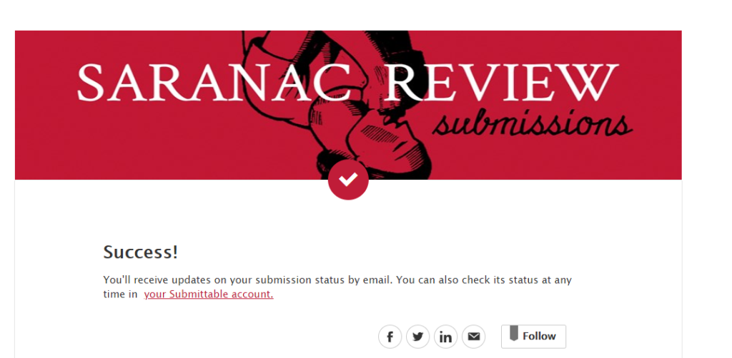 I finally submitted it!